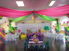 Siena AranetaElizaldes 1st Birthday Party the Manila Polo Club