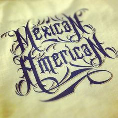 Mexican Pin Up Girl Art | Mexican American Lettering Art