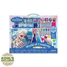 Disney Frozen World of Creativity Kit