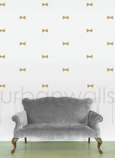Vinyl Wall Sticker Decal Art  Bow Ties by urbanwalls on Etsy
