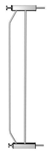 Reer ZV13 Lilli - Extensión para barrera de seguridad (13 cm), color plateado