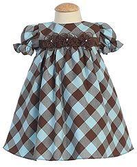 Flower Girl Dresses - Turquoise - Flower Girl Dress For Less