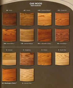 Kitchen Cabinets Stain Colors cherry wood stains-- useful for staying in the same wood family