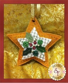 Heirloom Christmas Ornaments Pattern | Shabby Fabrics