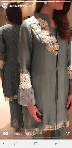 For price and details, contact on WhatsApp Pakistani Party Wear, Pakistani Dress Design, Pakistani Outfits, Indian Outfits, Stylish Dresses, Simple Dresses, Casual Dresses, Kurta Designs Women, Blouse Designs