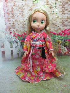 Handcrafted outfit Costume kimono dress for Disney by NinaBella9