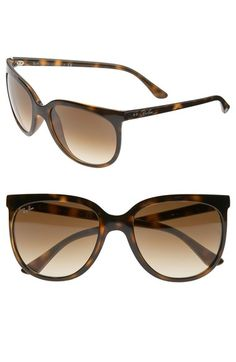 Free shipping and returns on Ray-Ban Retro Cat Eye Sunglasses at Nordstrom.com. Oversized frames turn out slightly at the corners for a chic cat-eye effect.