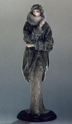 """""""Lady in Gray"""" by Alexandra Kokinova"""
