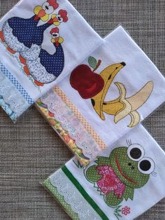 Hand Embroidery Patterns Free, Applique Quilt Patterns, Hand Embroidery Art, Machine Embroidery, Embroidery Designs, Patch Quilt, Dish Towel Crafts, Applique Towels, Crochet Square Patterns