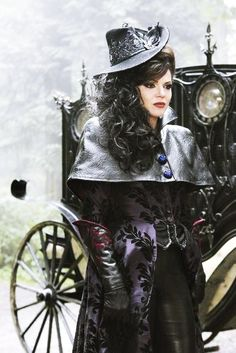 Once Upon a Time- Evil Queen. I just love the costumes on this show!