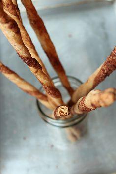sourdough cinnamon twists.