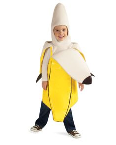 banana kids costume holidays halloweenhalloween - Banana Costume Halloween
