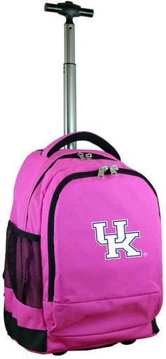 NCAA Kentucky Wildcats Premium Wheeled Backpack