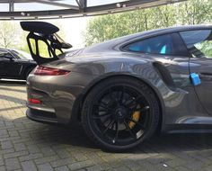 A close up shot of the world's first and only known PTS Carbon Grey Metallic (M9Z) 991 GT3 RS from Porsche Centrum Amsterdam in the Netherlands. This is not Anthracite Brown as I had guessed earlier. Congratulations to @dutchmien and your father for taking delivery of it! Thanks for confirming the color! : @sr_carphotography | Follow @ptsrs and join the #PTSRS movement for the latest on the newest #painttosample Porsche 991 GT3 RS's and soon 911 R's. by ptsrs