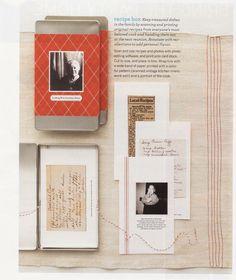 Family recipe card box | cute Christmas gift idea