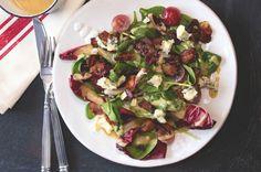 Špenátový salát s teplou slaninovou zálivkou