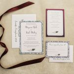 Peacock Wedding, Jewel Tones, Lancaster Weddings {Queen Bee Paperie}
