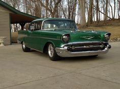 Bel Air Car, 1957 Chevy Bel Air, Chevrolet Bel Air, Fancy Cars, Cool Cars, My Dream Car, Dream Cars, Chevy Muscle Cars, American Muscle Cars