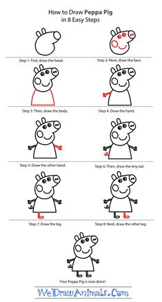 """Résultat de recherche d'images pour """"peppa pig step by step"""""""