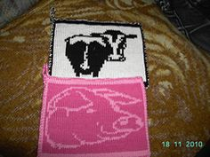 Ravelry: Pig and Cow Potholder pattern by Tina13