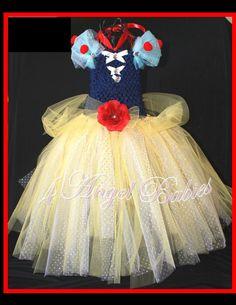 For Rylan DISNEY Princess SNOW WHITE TuTu Ball by 4AngelBabies