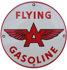 flying a gas