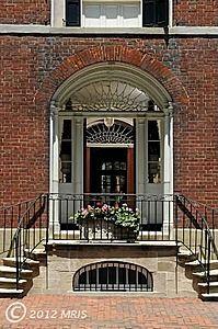 Lord Fairfax House, Alexandria, Virginia, 1803.