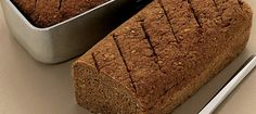 Dark Bread as eaten in the High North Rye Bread, Dough Recipe, Bread Baking, Bread Recipes, Banana Bread, Delish, Brunch, Food And Drink, My Favorite Things