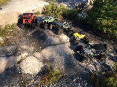Sortie Crawler  Tamiya CR01, Axial AX-10, Axial Wraith, Kyosho Rock force 2.2