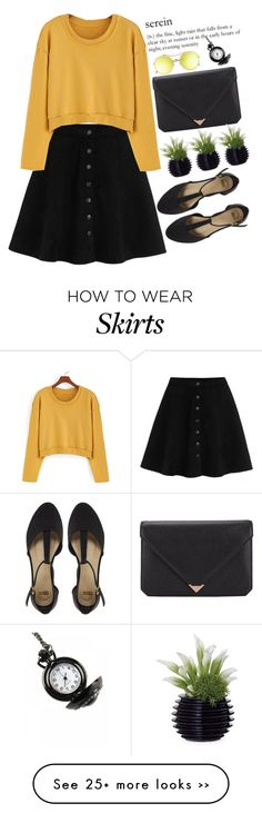 """Serein"" by m-zineta on Polyvore featuring ASOS, Alexander Wang and Dot & Bo"