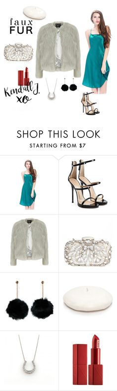 """""""A Faux Fur For New Year"""" by lilysilk ❤ liked on Polyvore featuring Giuseppe Zanotti, Dorothy Perkins, Natasha Couture, New Directions, Tiffany & Co., NARS Cosmetics, xO Design, Nightwear, women and fallfashion"""