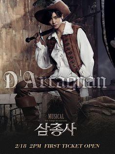 Park Hyungsik at Musical The Three Musketeer