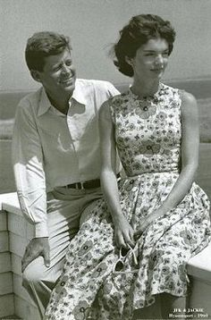 President Kennedy and Jacqueline Kennedy