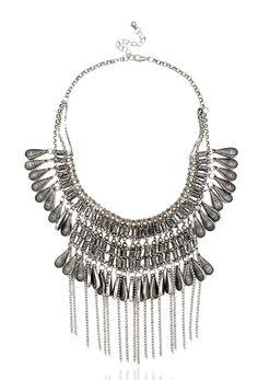 #bohemian #boho #sheek #silver #bohochic #statement #tassel #bauble #jewelry #pipabella