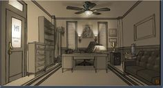 detective office - Google Search