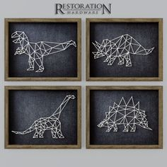 model Dinosaur String Art RH brontosaurus decor, formats include MAX, OBJ, ready for animation and other projects String Art Templates, String Art Patterns, Hilograma Ideas, String Art Diy, Dinosaur Bedroom, Diy And Crafts, Arts And Crafts, Art Origami, Dinosaur Art