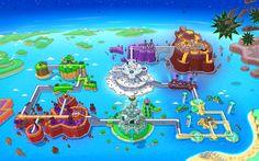 HarmoKnight game level map.