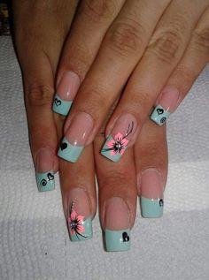 Party Nails, Gorgeous Nails, Simple Nails, Toe Nails, Pedicure, Nail Art Designs, Nail Design, Work Nails, Toe Nail Art