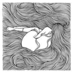I Draw Feelings, Not Illustrations Doodle Art Drawing, Zentangle Drawings, Pencil Art Drawings, Art Drawings Sketches, Design Art Drawing, Zentangle Patterns, Pattern Drawing, Art And Illustration, Mandala Art