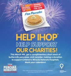 Tuesday, March 4th is Pancake Day!