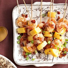 Give classic shrimp and grits a twist by turning them into a fun, tasty appetizer.