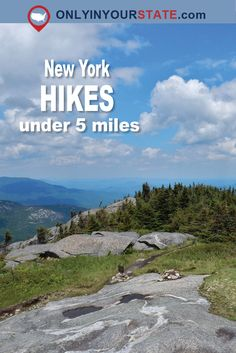 These short but sweet hikes that anyone can tackle, will give you an unforgettable experience! These 12 hikes in New York are all under 5 miles. Best Bucket List, New York Attractions, Best Hikes, Natural Wonders, New Jersey, Road Trips, Places To See, Buffalo, Travel Destinations
