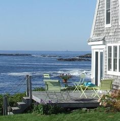 View from a Maine Cottage porch