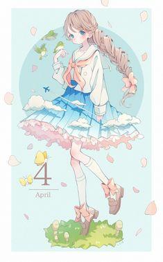 Pin by mikurinspins on anime in 2019 Anime Chibi, Chibi Kawaii, Fanarts Anime, Kawaii Art, Anime Characters, Anime Girl Cute, Kawaii Anime Girl, Anime Art Girl, Beautiful Anime Girl