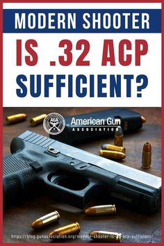 The .32 ACP is not the biggest cartridge you can buy, but it's a very capable round in modern shooting. Read on to know more! #32ACP #guncartridge #gunsandammo #ammunition #gunaccessories #gunassociation