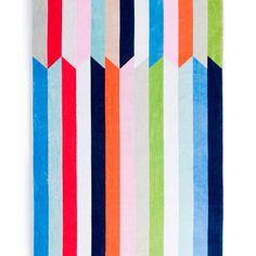 Beach Towel Love-Santorini beach towel from Schlossberg Switzerland    Would make a great quilt