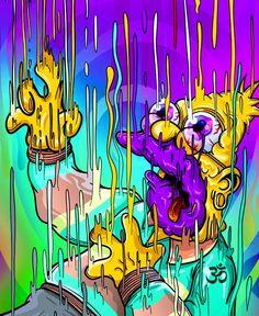 the simpsons merchandise Graffiti Wallpaper, Trippy Wallpaper, Cartoon Wallpaper, Graffiti Art, Trippy Cartoon, Dope Cartoon Art, Simpsons Drawings, Simpsons Art, Art Hippie