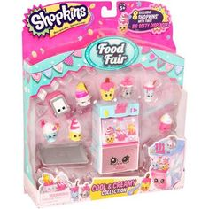 KATIE OR HANNAH Moose Toys Shopkins Season 3 Food Fair Themed Packs Cool And Creamy Collection