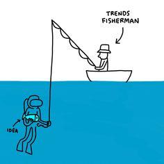 Trends Fisherman . . #creative #ideas #crisis #illustration #art #illustrator #creativeprocess #javirroyo #idea