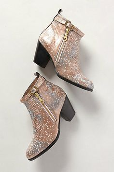 Stingray Booties #anthropologie